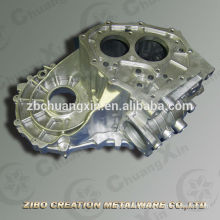 Qualified gearbox shell alloy die cast spare parts