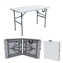 Mesa de picnic de los muebles que acampan 4FT Foldig en medio tabla al aire libre para el ejército