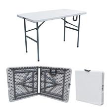 Mesa de piquenique para móveis de camping 4FT Foldig na meia mesa ao ar livre para o exército