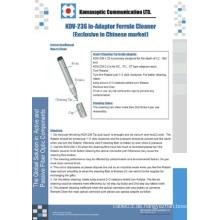 Kdv-236 in-Adapter Ferrule Cleaner, optische Faser Reinigung