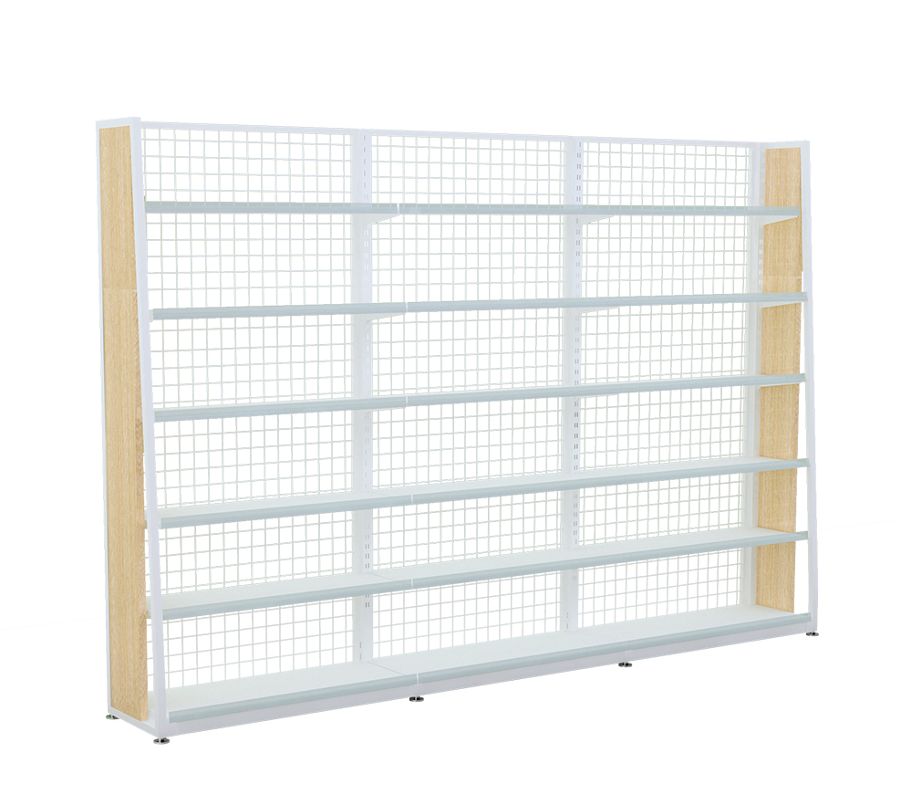Metal Wood Shelving Units