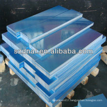 blue film 8011 H24 Aluminum roofing sheet made in China