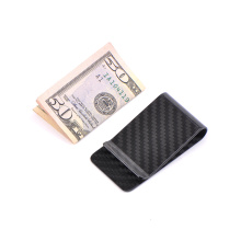 Chic design Carbon fiber money clips