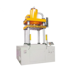Servo hydraulic press for pot manufacturing