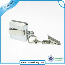 New Design Metal Carabiner Badge Reel