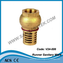 Brass Foot Valveand Bottom Valve (V24-006)