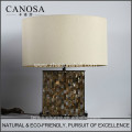 Canosa ECO-Friendly penguin shell table lamps with metal pedestal
