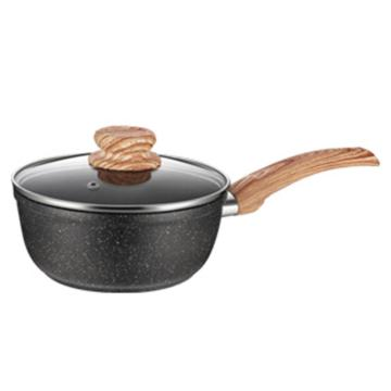 Marmorbeläggning Aluminium Non-Stick Coating Frying Pan
