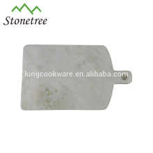 Granit oder Marmor Stein Schneidebrett