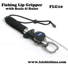 Stainless Steel Fishing Lip Grip with Scale and Ruler