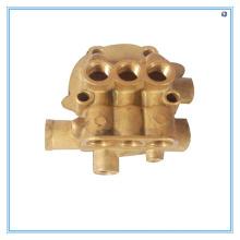 Fundição em areia de bronze para blocos de válvulas hidráulicas