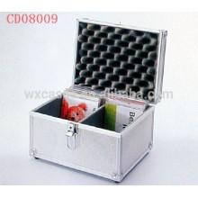 sostenedor CD de alta calidad CD 40 discos (10mm) de aluminio por mayor de China fabricante