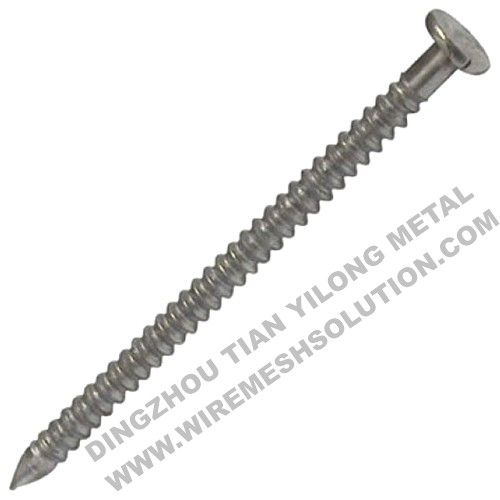 Annular Ring Shank Nail for Building