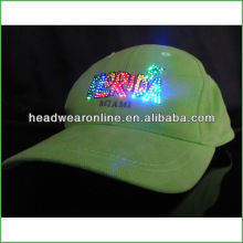 2015 led baseball cap led baseball cap led power cap with embroidery