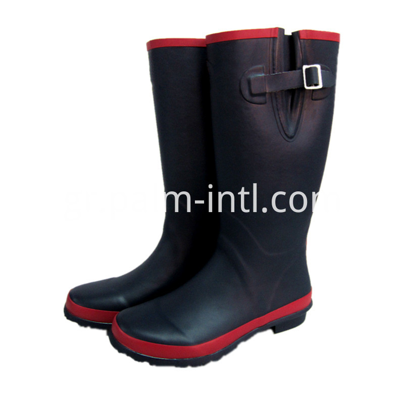 Ladies' Long Rain Boots