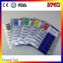 Dentais Diamond Burs para Handpiece de alta velocidade