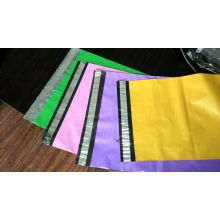 Adequate Inventory Colorful Packing Mailing Bag with Silver Block Gine