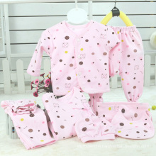 Combed Cotton 7PCS Newborn Infant Clothes
