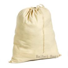 Небеленая хлопчатобумажная сумка для стирки (HBLB-15)