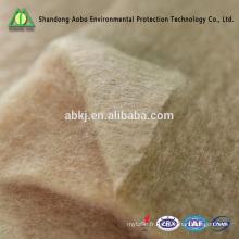 Ouate de fibre de chameau de laine d'Anti-Bactéries / feutre de cheveux de chameau de remplissage
