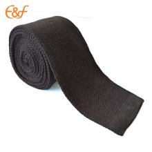 Классические мужские твердые трикотажные тканые мода тонкий тощий галстук галстук