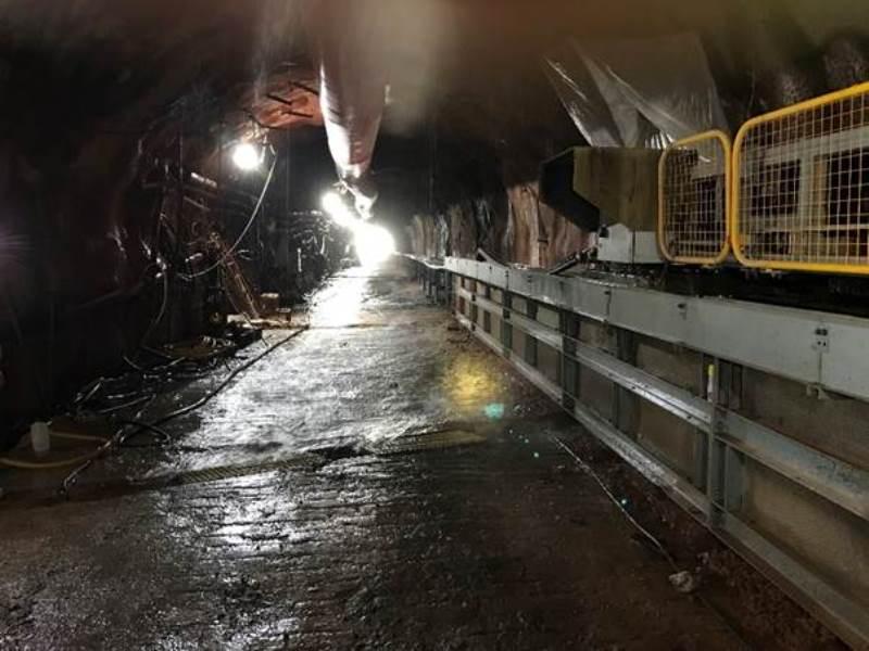 Underground Potash Conveyor1