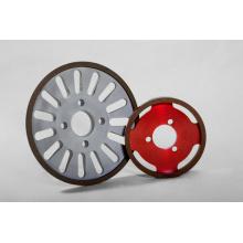 6A2 Borazo Diamond Wheels para cuchillo para tejidos, muela abrasiva