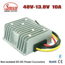 Conversor do fanfarrão da CC da CC de 48VDC a 13.8VDC 10A 138W