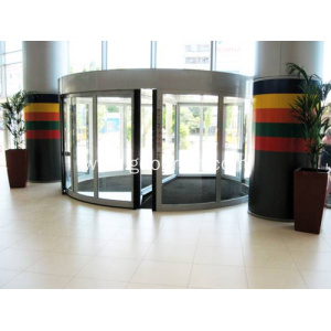 Commerical automatic revolving door
