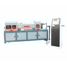 Rebar / bobine d'acier redressant et coupant la machine