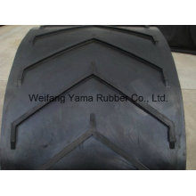 Rubber Conveyor Belt / Chevron Conveyor Belt for Bulk Material Transmission