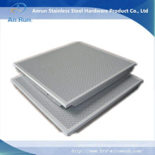 Perforated Metal Plate with Bend