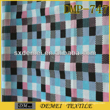 printed upholstery supplies cotton check fabric