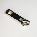 No 5 Logam Zipper Slider Stainless Steel Finish