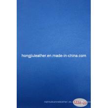 Blue Temperament Automotive Leather hecho para la cubierta de asiento de coche