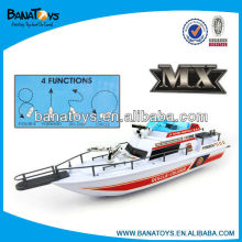 Exciting 4 functions electric boat for kid