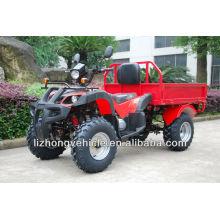 150cc/200cc refroidi à entraînement par chaîne cargo ATV de la ferme de CVT