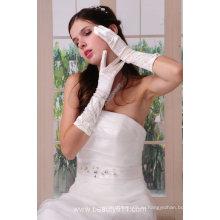 Astergarden реальные фото Свадебные перчатки ASJ002