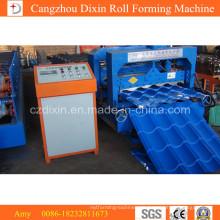 Gewelltes Dachziegel-Blatt, das Maschine/Corlors-Metalldachziegel-Rollformmaschine herstellt