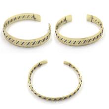 Grossiste Custom Matel Bracelets avec acier inoxydable