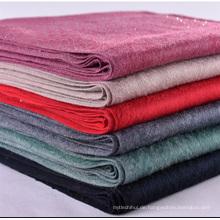 Fabrik Preis Damen Winter Schal Cashmere Gefühl dicken warmen Schal mit Strass Quaste Schal