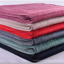 El precio de fábrica señoras chal de invierno chal sensación gruesa bufanda caliente con bufanda rhinestone borla