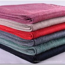 Usine prix dames hiver châle Cachemire sentiment épais écharpe chaude avec écharpe de strass de gland