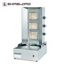 Machine électrique commerciale de Kebab de Shawarma d'acier inoxydable de vente chaude (équipement de cuisine d'exposition)