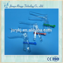 Gynecological examination disposable vaginal speculum French type