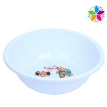 Fashion Cartoon Design Round Plastic Wash Basin (SLP025)
