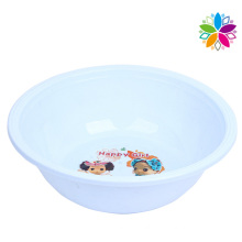 Fashion Cartoon Design Round Plastic Wash Basin (SLP025)