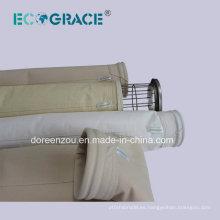 Proceso de Producción de Cemento Filtro de Aire Bolsa de Filtro Acrílico