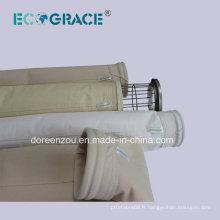 Processus de production de ciment Filtre à air Filtre à filtre acrylique