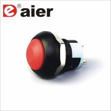 Interruptor impermeável 250v da tecla do PWB da abóbada de 12mm